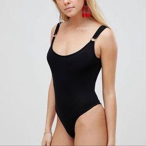 Circle detail bodysuit